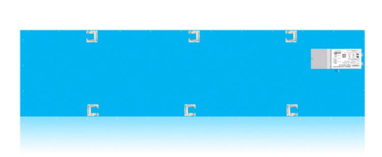 Picture of 1'x4' Edge-Lit Flat panel 5000K 347V
