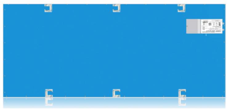 Picture of 2'x4' Edge-Lit Flat panel 5000K 347V