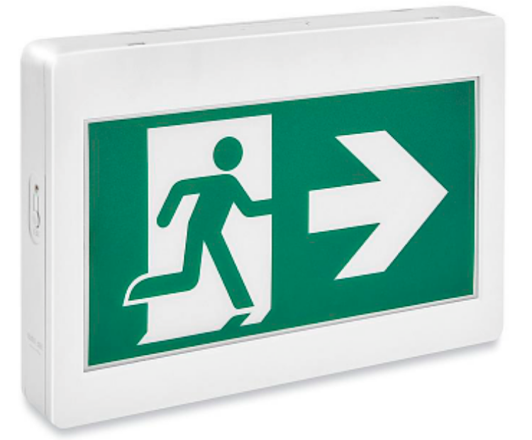 Picture of Running Man Exit Sign