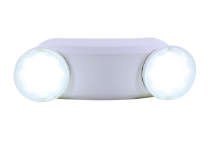 Picture of Twin Head Emergency Light Round