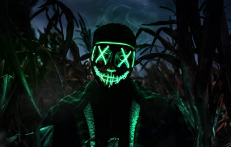 Picture of Wire Light Mask Green
